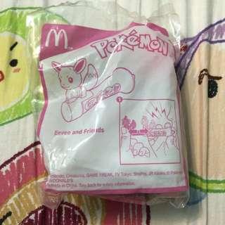 BN Pokemon Eevee McDonald's Happy Meal Toy