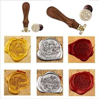 Po wax stamps for wedding Holiday for you