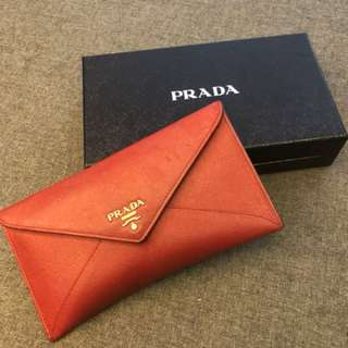 Prada wallet - very good condition