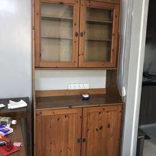 木制地櫃,餐枱