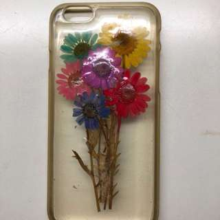 iPhone 6 case - 乾花