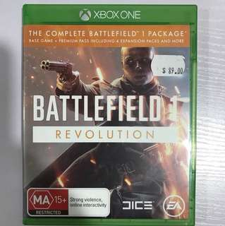 Xbox One Battlefield 1 Revolution