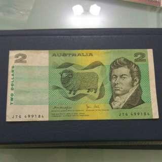 Australia 2 Dollars