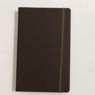 Leather dairy book