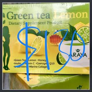 Araya Green Tea Lemon for (with one free gift)