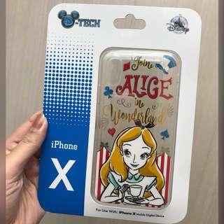 Casing Iphone X Alice Wonderland