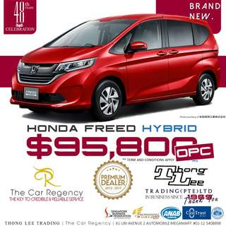Honda FREED 1.5 HYBRID G ·OPC ( NEW CARS ) / SEINTA