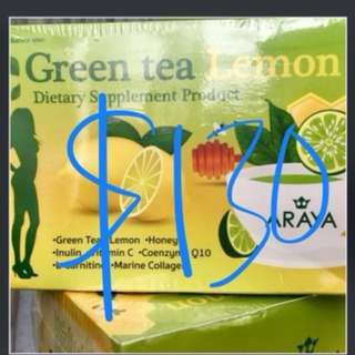 Araya Green Tea Lemon