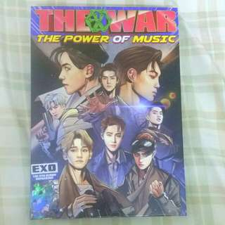 EXO THE WAR 'POWER OF MUSIC' ALBUM