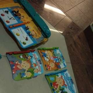 Vtech storytimes touch book (including 4books)