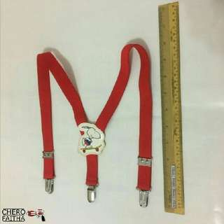 Snoopy kid  adjustable suspender