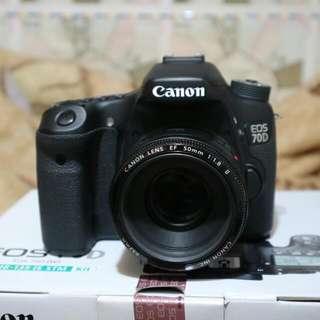 Canon 70D lens 50mm