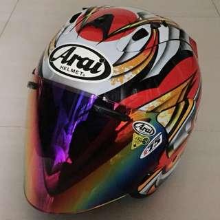 Tsr Helmet (Free Tinted Visor)
