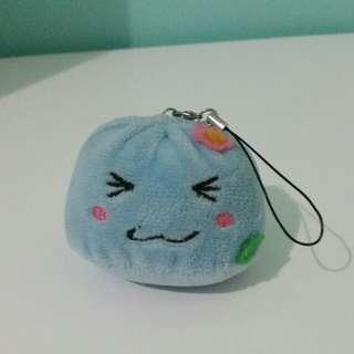 Cute plush keyring