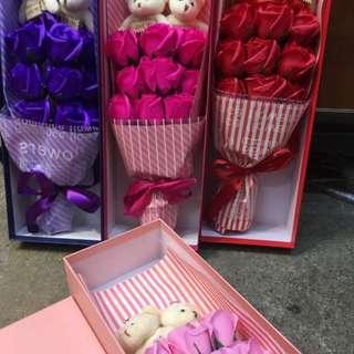 Flower Soap Valentines Day Gift