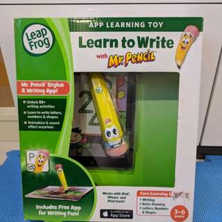 Brand New Leapfrog Learn to Write with Mr Pencil