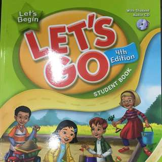Let's Go Let's Begin Student Book with Audio CD