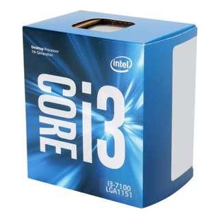 Intel Original LGA1151 7th Gen i3-7100