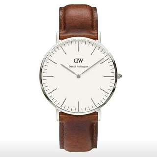 Authentic Daniel Wellington watches