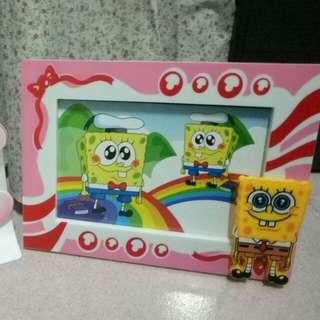 Photo Frame [SpongeBob & Hello Kitty]