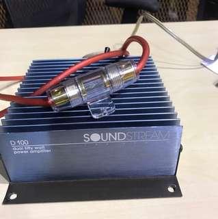 Sound stream amplifier