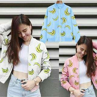 Banana crop sweater