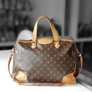 Authentic Louis Vuitton Monogram Retiro GM LV