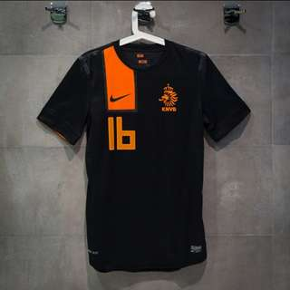 Netherlands 2012 Away Kit #16 NIKE Player Issue 球員版 球衣 波衫
