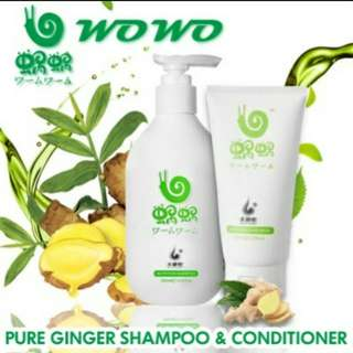 Wowo shampoo & hair mask