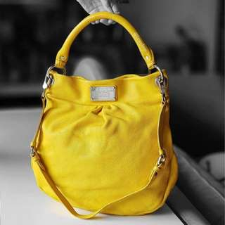 Authentic Marc By Marc Jacobs Classic Q Hillier Hobo Bag