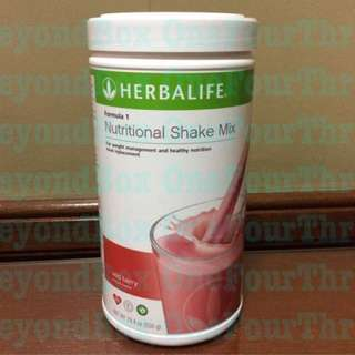 Herbalife Nutritional Shake - Strawberry