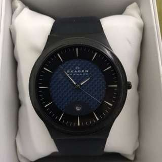 Original Skagen Leather Watch