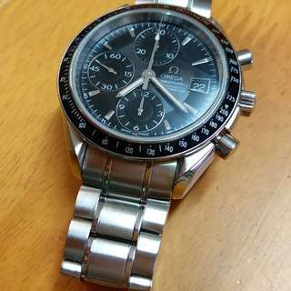 Omega speedmasrer Chronometer 黑面計時