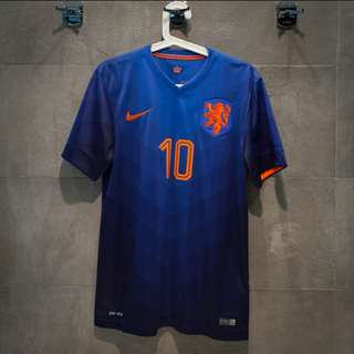 Netherlands 2014 Away Kit #10 NIKE 球衣 波衫