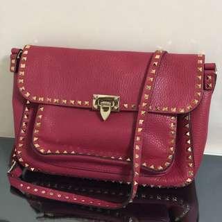 Valentino Garavani Rockstud Rolling shoulder bag