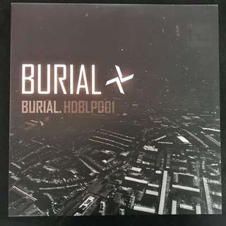 BURIAL - HDBLP001 2 x LP VINYL RECORDS