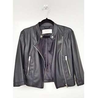 Biker jacket zara (used but not abused)