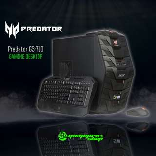 Predator Desktop G3-710(i77MR161T07) (GTX1070 8GB GDDR5)