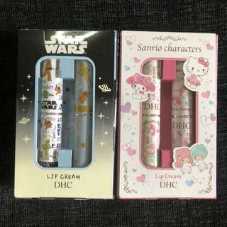 Instock japan Star Wars, Sanrio x DHC lip balm set
