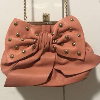 Brand New Authentic Red Valentino Leather Crossbody Bag