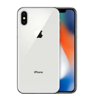 iPhone X 256GB in Silver - Mint condition