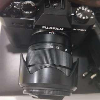 Fujifilm xt20 with kit lens 16-50mm