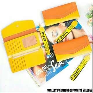 Wallet premium off white