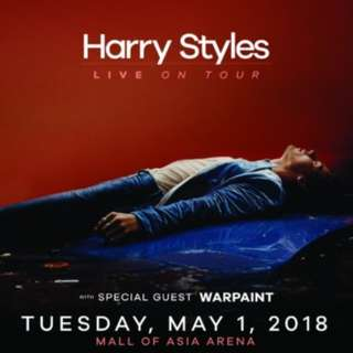 Buying Platinum Tix for Harry Styles: Live on Tour in Manila