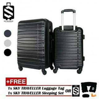 Free postage !! SKY TRAVELLER SKY287 Deluxe ABS 2-In-1