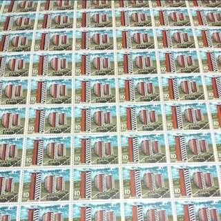 1963 3 june national day singapore stamp sheet stampsheet