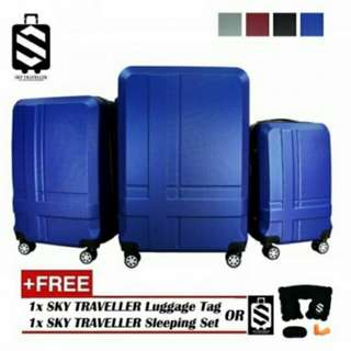 Free Postage !! SKY TRAVELLER SKY292 Premium ABS 3-In-1