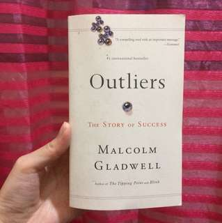 For Sale Outliers book by Malcolm Gladwell