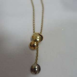 Cartier trinity tricolor gold pendant necklace