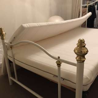 Single bed and IKEA foam mattress and mattress pad